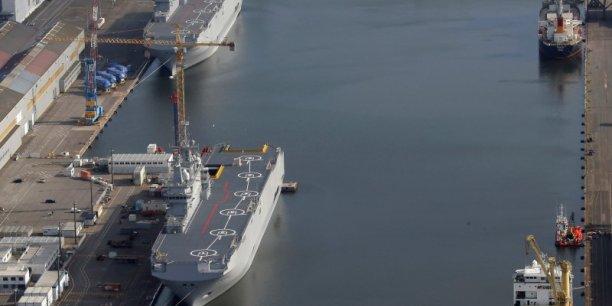 Une délégation égyptienne de haut niveau est à Paris actuellement pour négocier l'achat des deux Bâtiments de projection et de commandement (BPC), de type Mistral, initialement destinés à la marine russe