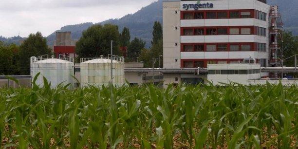 Le suisse syngenta a refusé une proposition de 46 milliards de dollars.