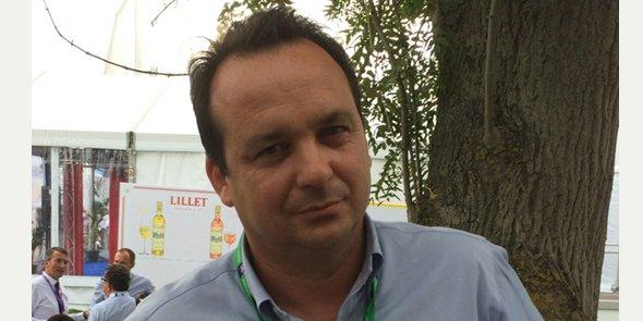 Fabien Portes, président du Medef Béziers, lors de l'Université d'été du Medef les 26 et 27 août 2015.