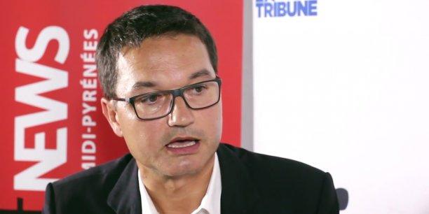 Jean-Christophe Arguillère, délégué régional Midi-Pyrénées du groupe Orange
