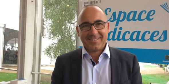 Eric Giraudier est le nouveau président de la CCI du Gard.