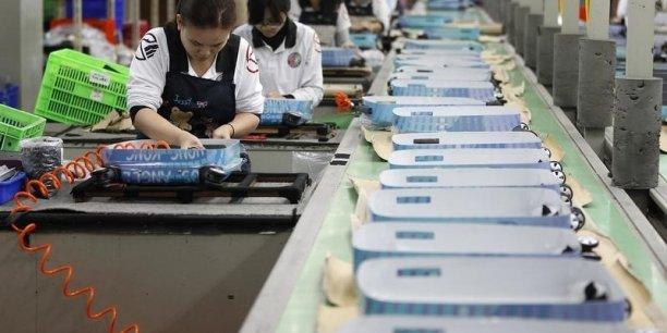 L'Académie chinoise des sciences sociales, un organisme proche du pouvoir, attend un PIB en hausse de 6,9%.