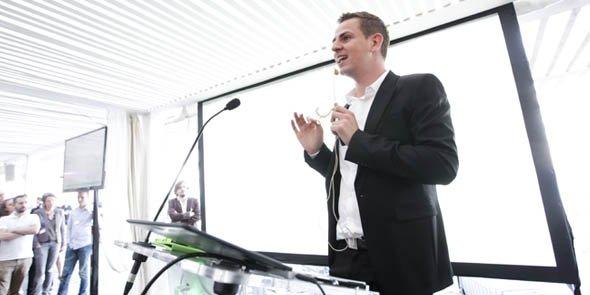 Jonathan Vidor, CEO de JVWeb