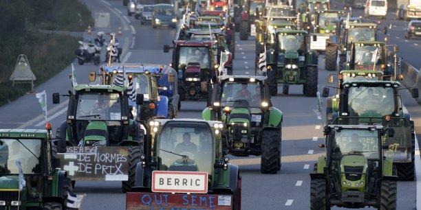 Plus de 1.000 tracteurs quitteront les campagnes pour la ville, afin de rejoindre cette fois la capitale européenne.
