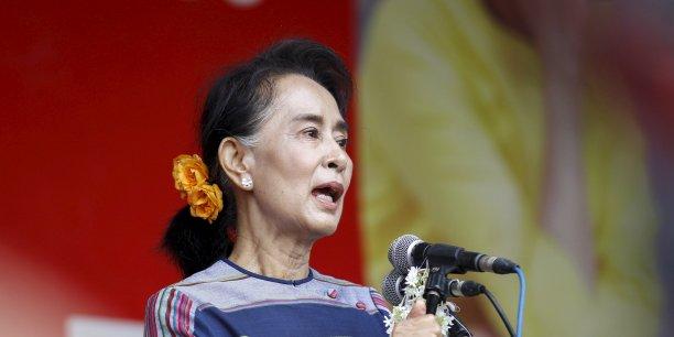 L'opposante Aung San Suu Kyi pourrait accéder au pouvoir à l'issue des élections législatives de dimanche.