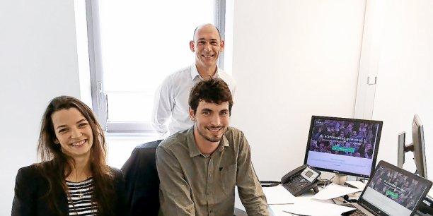 L'équipe de Kengo gère le financement de 18 projets sur sa plateforme de crowdfunding dédiée aux startups bretonnes.