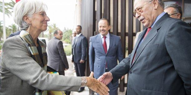 En 2013, le FMI avait octroyé à la Tunisie une ligne de crédit de 1,7 milliard de dollars sur deux ans dans le cadre d'un plan d'aide destiné à soutenir la transition politique.