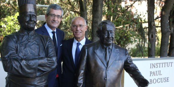 Dominique Giraudier et Hervé Fleury.