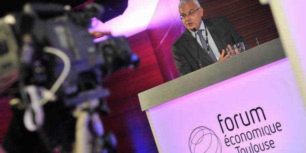 Alain Di Crescenzo, président de la CCI de Toulouse