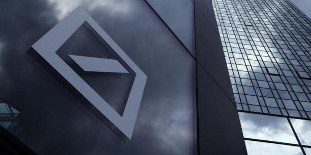 La Deutsche Bank est un symptôme d'un déséquilibre plus profond.