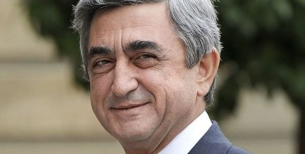 Le président arménien, Serge Sarkissian, est venu à Paris soutenir la cause du Haut Karabahg