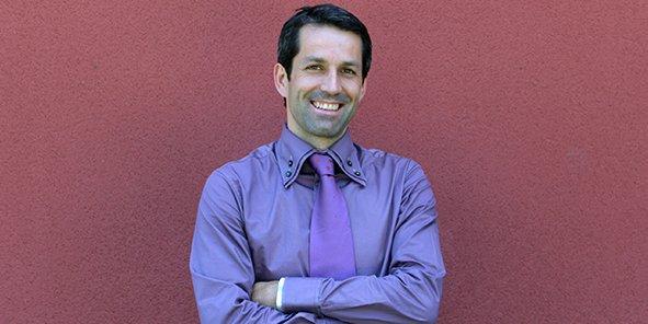 Yvan Perrière, directeur du campus de Bissy