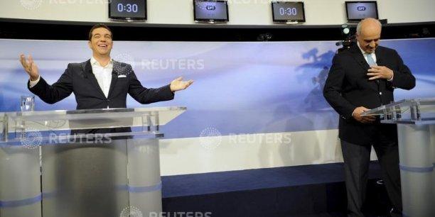 Alexis Tsipras et Evangelos Meimarakis sont d'accord pour appliquer le mémorandum.