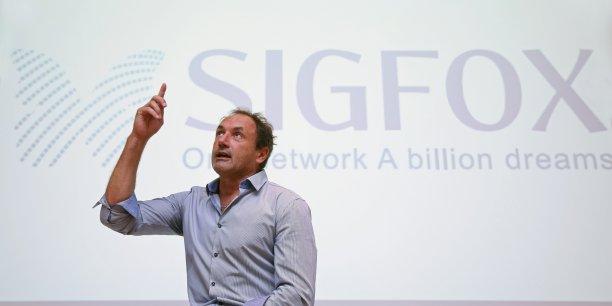 Ludovic Le Moan, CEO de Sigfox le 16 septembre 2015 à Toulouse