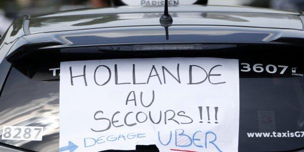 Près de 40% des chefs d'entreprise estiment que leur métier peut être concerné par une concurrence comparable à celle subie par les taxis.