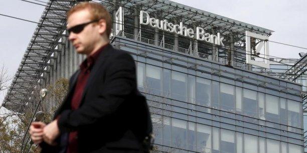 Après divers scandales, la première banque d'Allemagne veut restaurer son image et renouer avec les bénéfices.