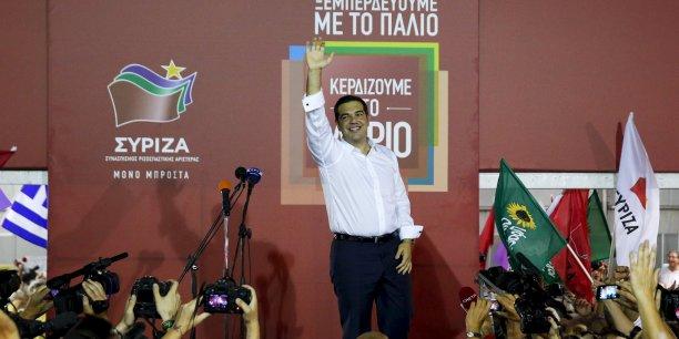 Alexis Tsipras a obtenu la  seconde chance qu'il avait lui-même réclamée, souligne le quotidien économique allemand Handelsblatt