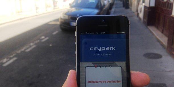 Citypark calcule le vrai temps de transport auto en ville en incluant le temps necessaire au parking et même le parcours à pied entre l'automobile et le site du rendez-vous final