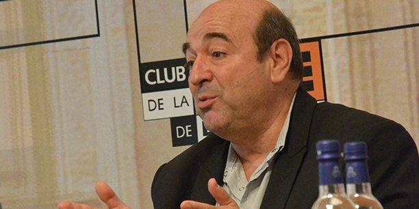 Gabriel Valdisserri, directeur de France Bleu Gironde et délégué Sud-Ouest