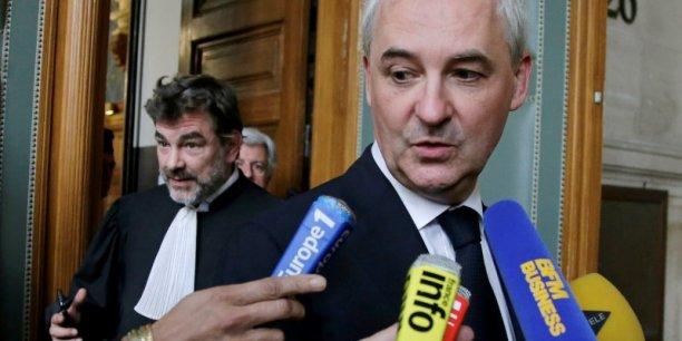 François Pérol, l'ex-conseiller de Nicolas Sarkozy devenu président du directoire de BPCE, comparaît devant la cour d'appel de Paris pour prise illégal d'intérêts.