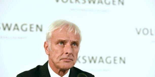 Matthias Müller a promis qu'il ferait tout pour préserver l'emploi, mais que les investissements seraient passés en revue.