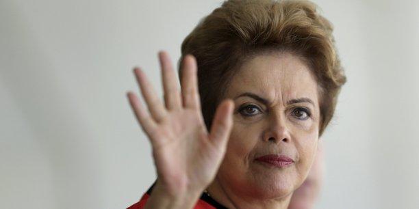 Cette conférence sera une occasion unique d'élaborer une réponse commune au défi climatique, a souligné la présidente brésilienne.