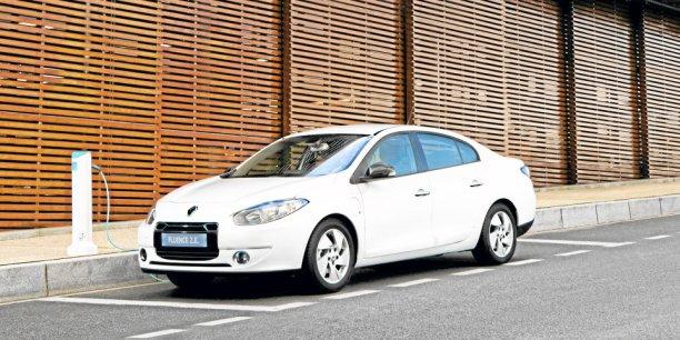 Fluence Z.E. est un tricorps réservé aux pays émergents que Renault propose en motorisation électrique
