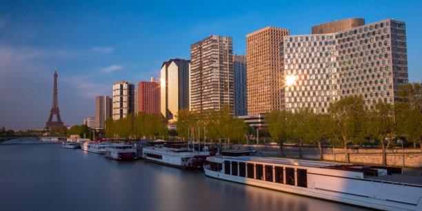 Le quartier de Beaugrenelle abrite un centre commercial dont la toiture est recouverte de 7.000 m² de jardin