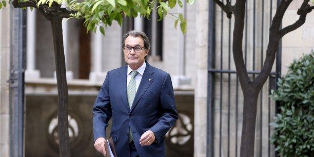 Artur Mas devra comparaître devant la justice espagnole le 15 octobre.