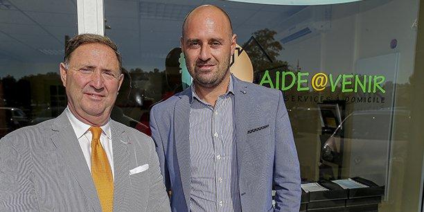Charles Laurent, président, et Jean-Paul Di Cristo, directeur général de Synergies@venir