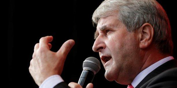 Philippe Richert, président Les Républicains de l'Association des régions de France, se félicte que les régions deviennent pilotes pour le plan de formation de 500.000 chômeurs