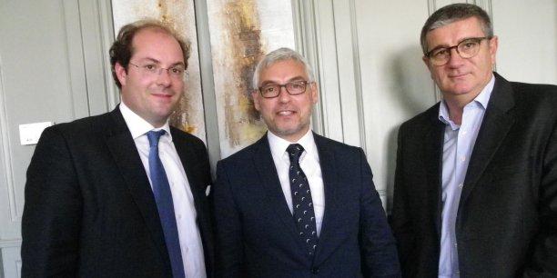 Axel Champeil, Jean-Christophe Lépine, Ludovic Lastennet