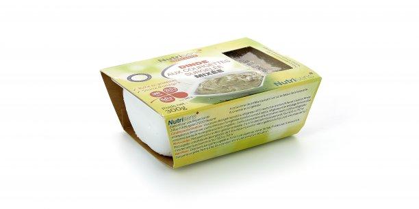 Un exemple de produit destiné à l'alimentation des personnes âgées