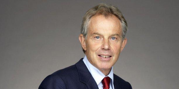 Tony Blair, ancien premier ministre britannique