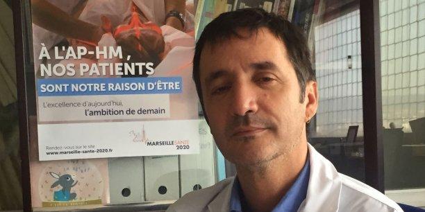 Michel Tsimaratos, secrétaire général de la commission médicale d'établissement, Assistance Publique Hôpitaux de Marseille