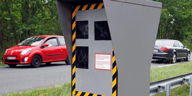 Radars automatiques: les recettes baissent pour la première fois depuis 15 ans