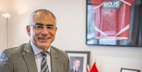 Younès El Mechrafi, dirigeant de la Marocaine des Jeux et des Sports (MDJS)