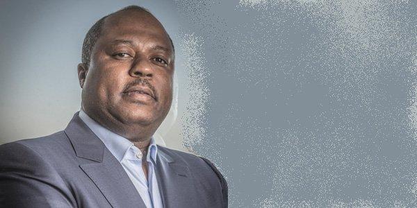 Claude-Wilfrid Etoka ,dirigeant-fondateur de Sarpd Oil, l'un des leaders africains du trading pétrolier.