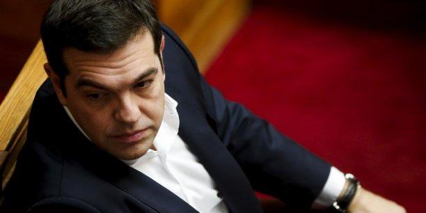 Mettre en oeuvre le plan de sauvetage ne va pas être facile. (...) Cela est nécessaire pour sortir de ce système de surveillance et démarrer immédiatement les discussions sur la question de la dette, a expliqué le Premier ministre grec, Alexis Tsipras