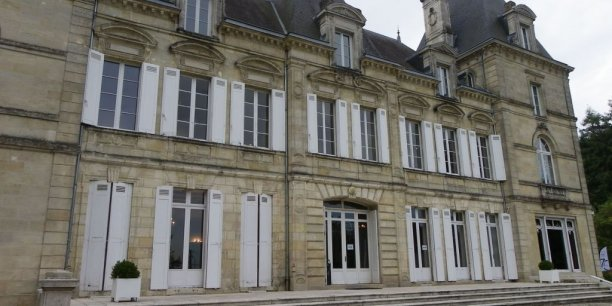 Le château les Lauriers à Lormont (Gironde) héberge le musée de la Sécurité sociale