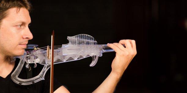 Le 3Dvarius, un instrument sorti tout droit de l'imagination de Laurent Bernadac