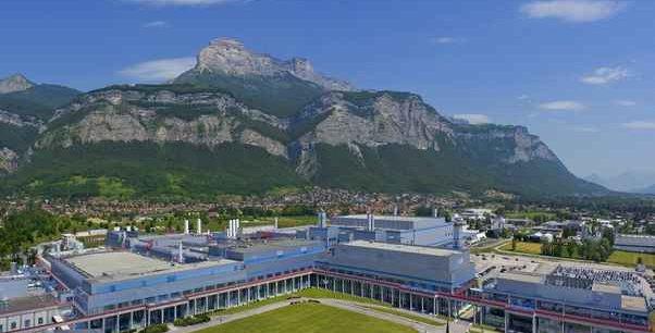 Le site de ST Microelectronics à Crolles près de Grenoble