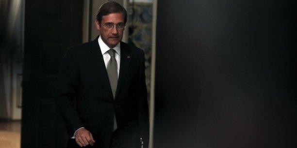 Pedro Passos Coelho, premier ministre du portugal, ne veut pas quitter le pouvoir