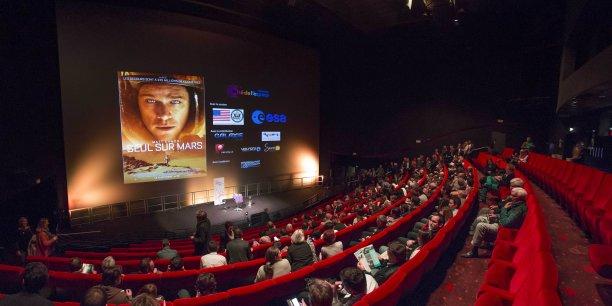 La Cité de l'espace a organisé une avant-première du film Seul sur Mars