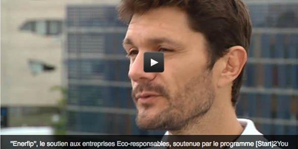 Vidéo de présentation d'Enerfip, créée par Julien Hostache au sein du BIC de Montpellier