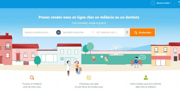 La start-up indique mettre en relation chaque mois 2 millions de Français avec environ 5.000 médecins (généralistes, dentistes, gynécologues...) et 100 établissements de santé.
