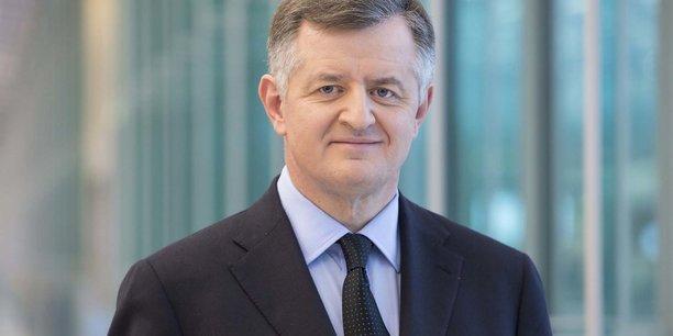 Augustin de Romanet, nouveau président de l'organisme de promotion de la place financière de Paris. Il prendra ses fonctions le 14 juillet prochain.
