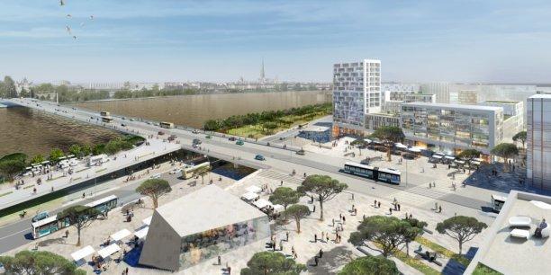 Adapté aux potentielles inondation, le projet de génie urbain Garonne Eiffel (Bordeaux) permet à Ingérop de décrocher le Grand Prix de l'ingénierie 2015.