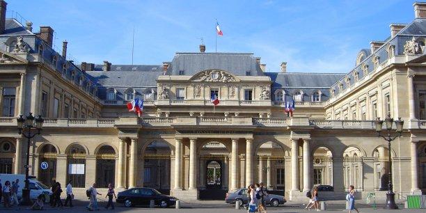 Le Conseil d'État à Paris