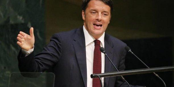 Ils imaginent la terreur, nous répondons avec la culture, a expliqué Matteo Renzi.